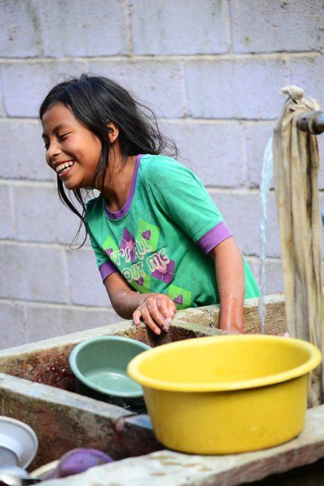 Portrait: Guadalupe in Nebaj Guatemala