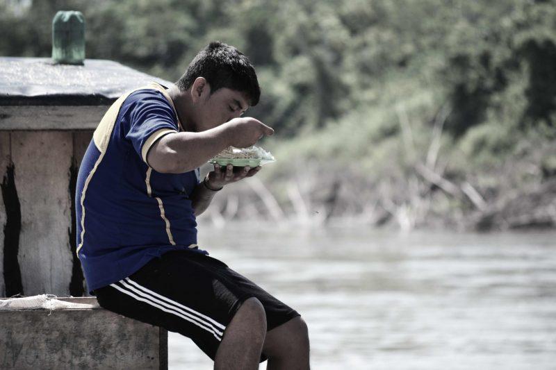 boat trip down the amazon river