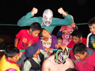 lucha libre show in mexico