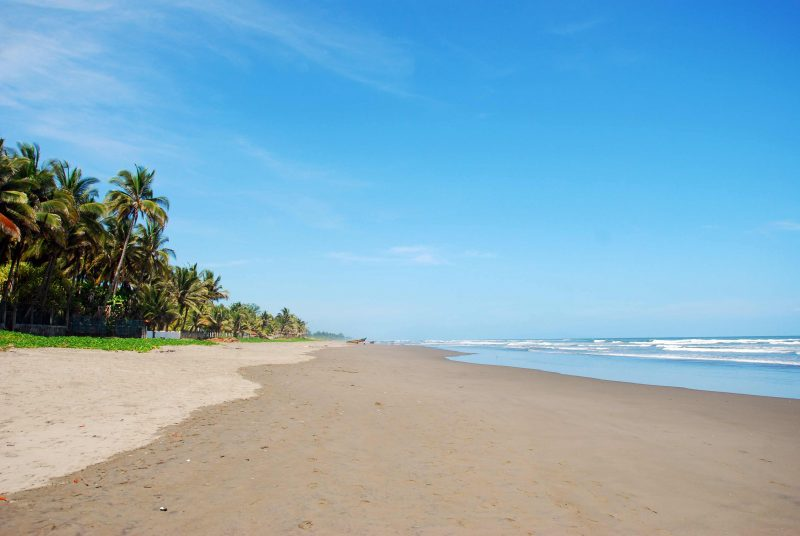 Beaches Of El Salvador Cuco Beach