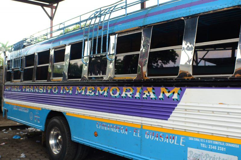 El Salvador to Nicaragua bus