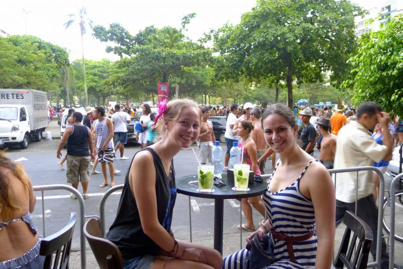 backpacking rio carnival