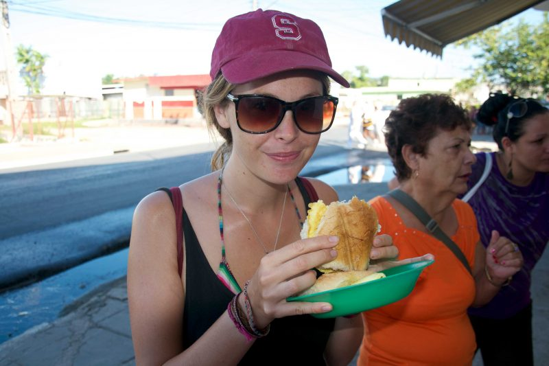 street food in cuba