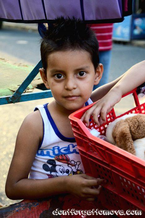 El Salvador travel portrait