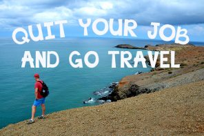 quit your job and go travel