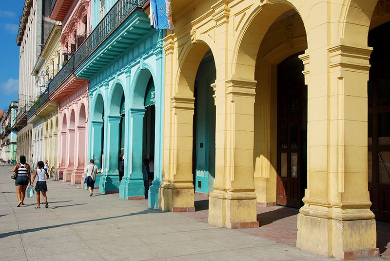 backpacking in Cuba two weeks