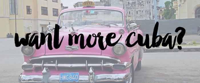 two week cuba travel itinerary