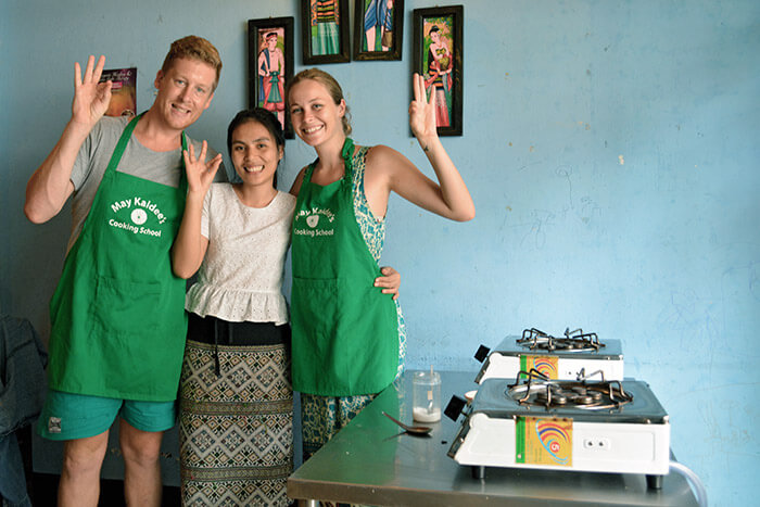 may kaidee vegetarian cooking school