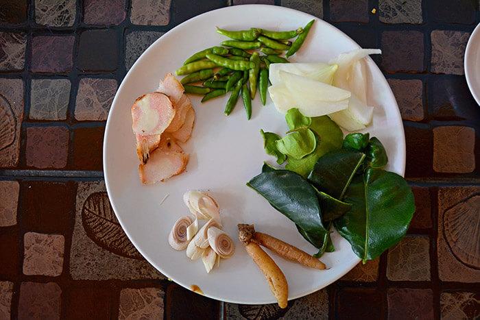 thai vegan cooking in chiang mai
