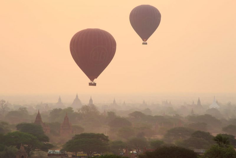 Bagan-at-dawn
