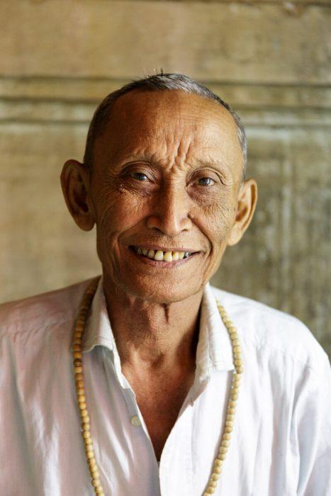 Bagan temple man Myanmar Burma