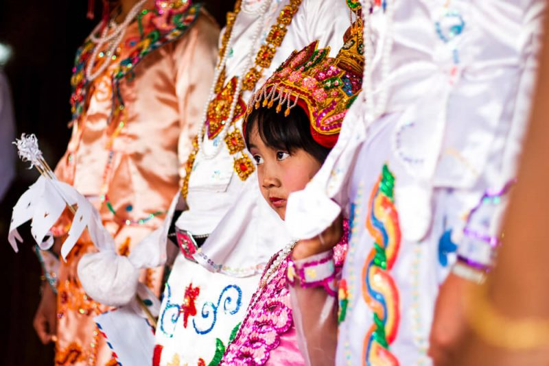 Kalaw Novice Festival Myanmar