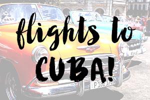 booking cheap flights to cuba