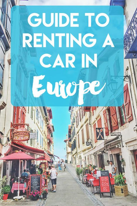 Benefits of Renting A Car in Europe