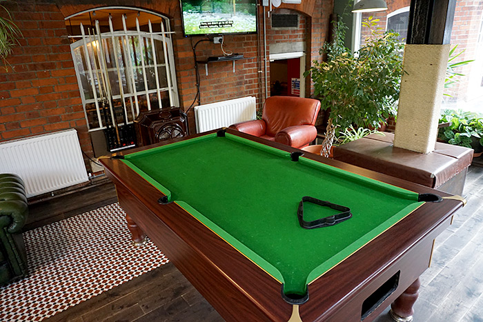 palmers lodge pool table
