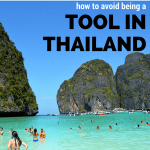 being culturally sensitive in Thailand
