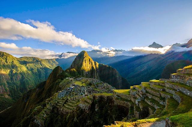 traveling to Machu Picchu South America