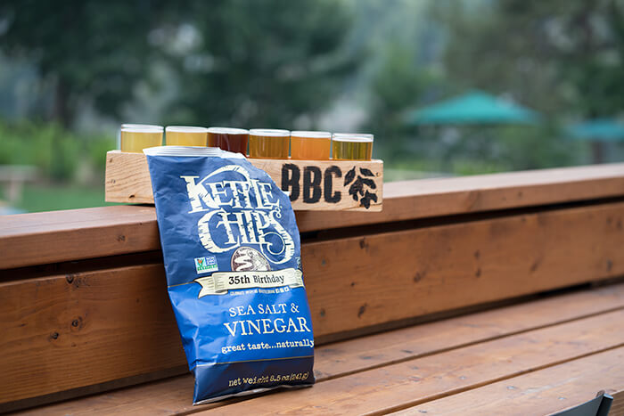 Kettle Brand chips beer pairing
