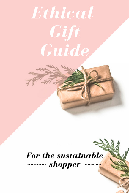 holiday gift ideas ethical sustainable