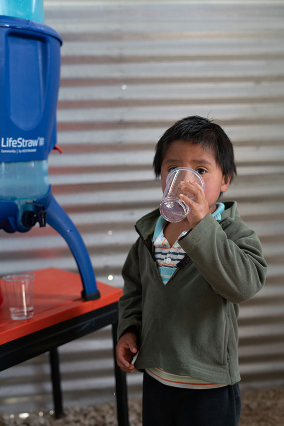 LifeStraw giving back program