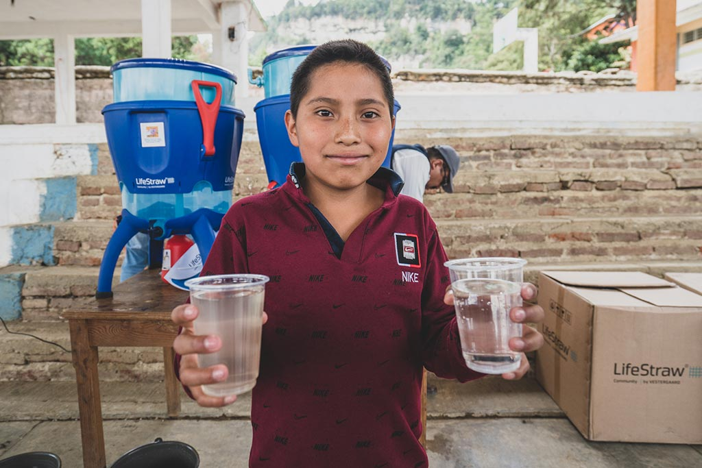 LifeStraw water filters Mexico