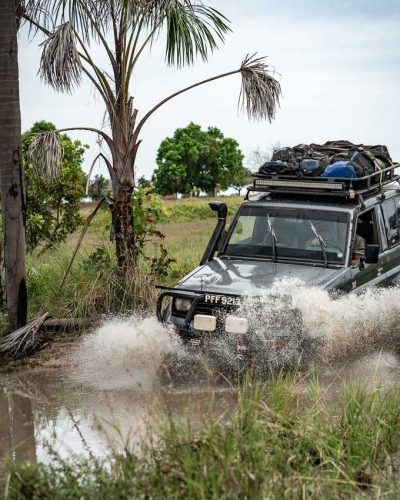 4x4 tours in Guyana