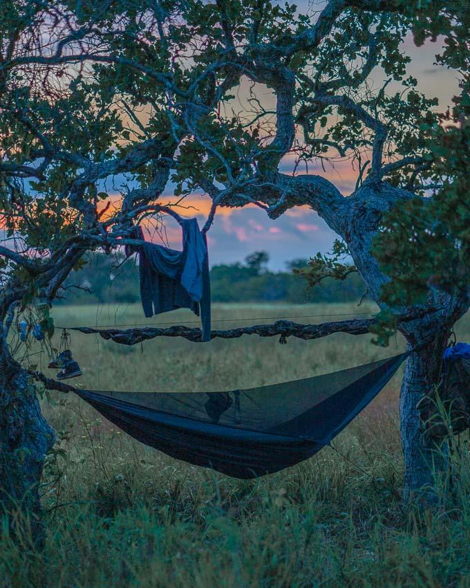 camping in Guyana