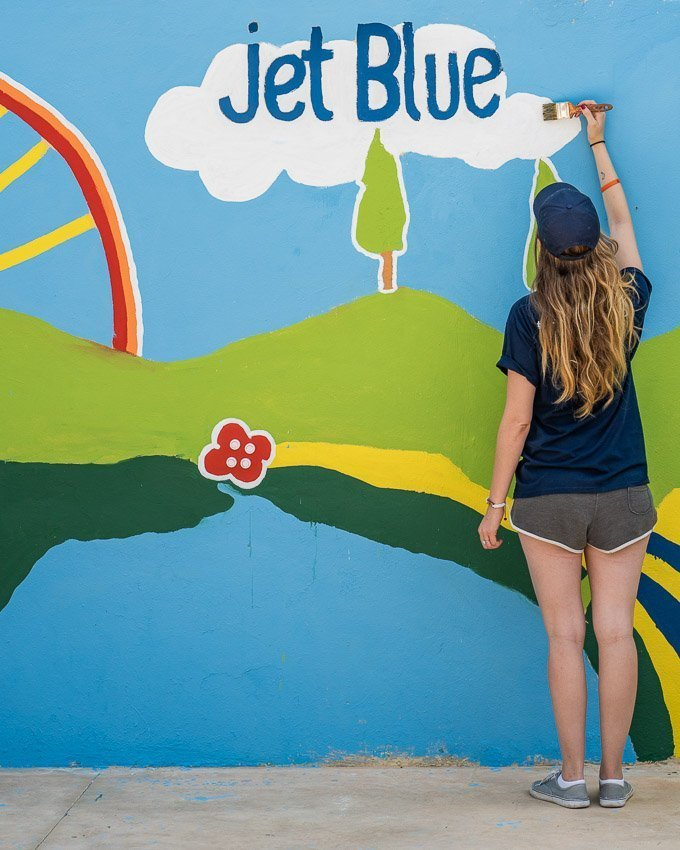 check in for good campaign jet blue