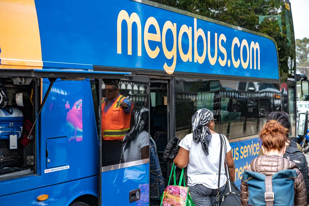 travel with megabus