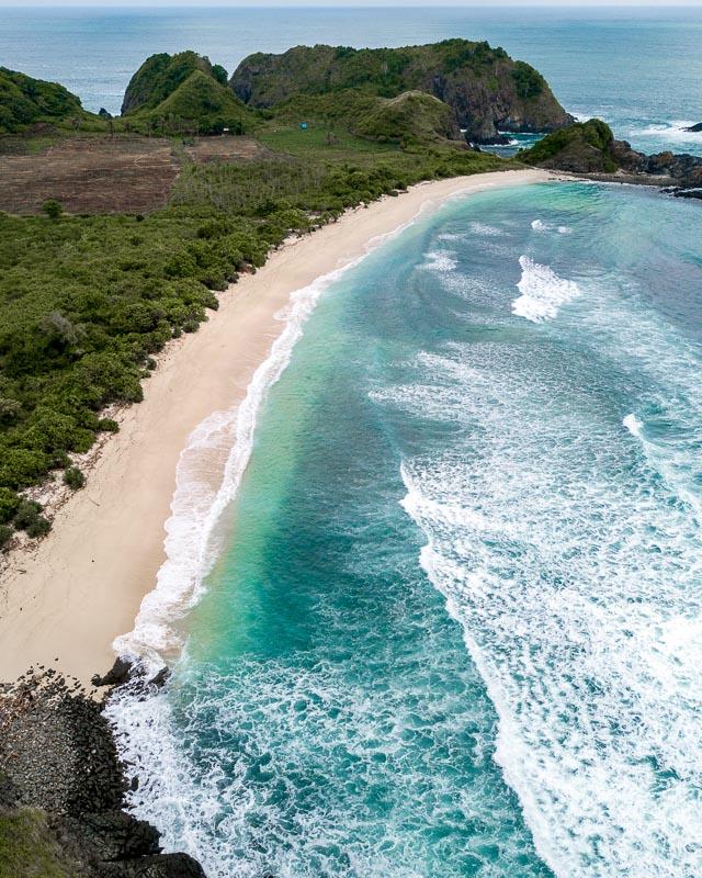 Pantai Semeti beach Lombok