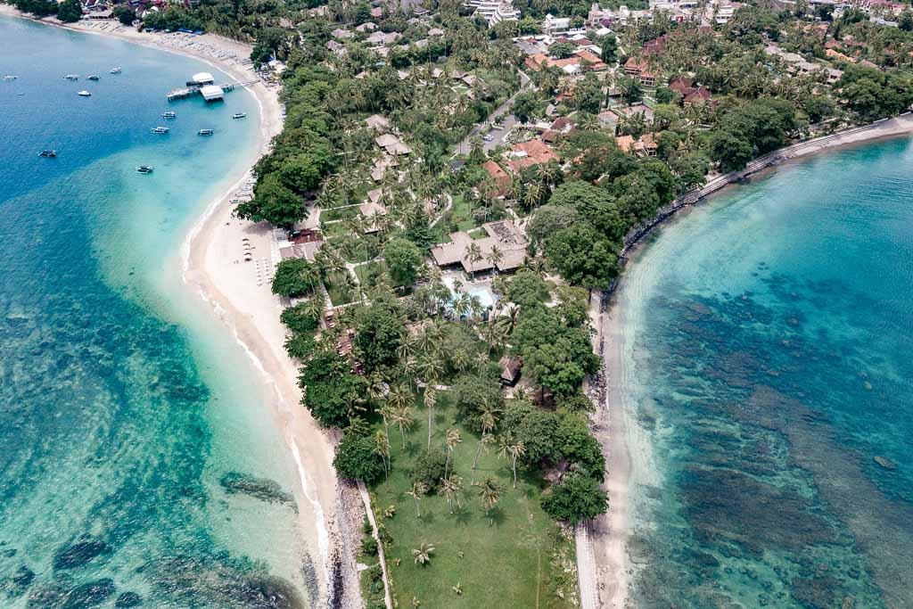 Pantai Senggigi beach Lombok