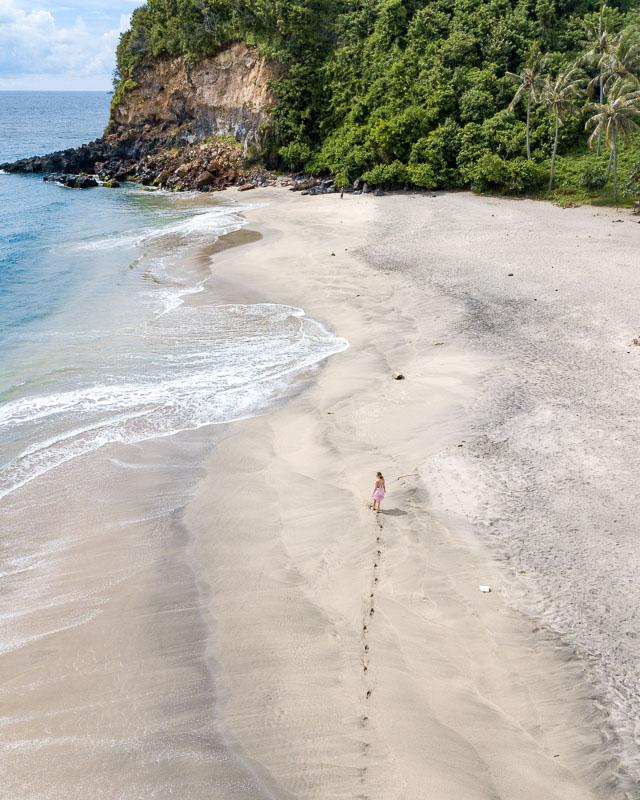 Sentangi beach Ludmila Lombok