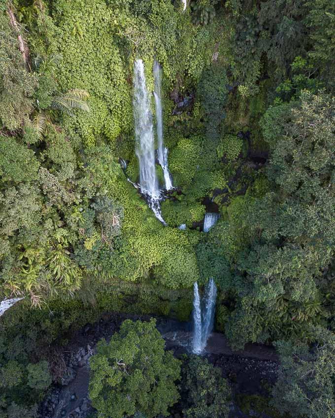 waterfalls in Lombok Tiu Kelep