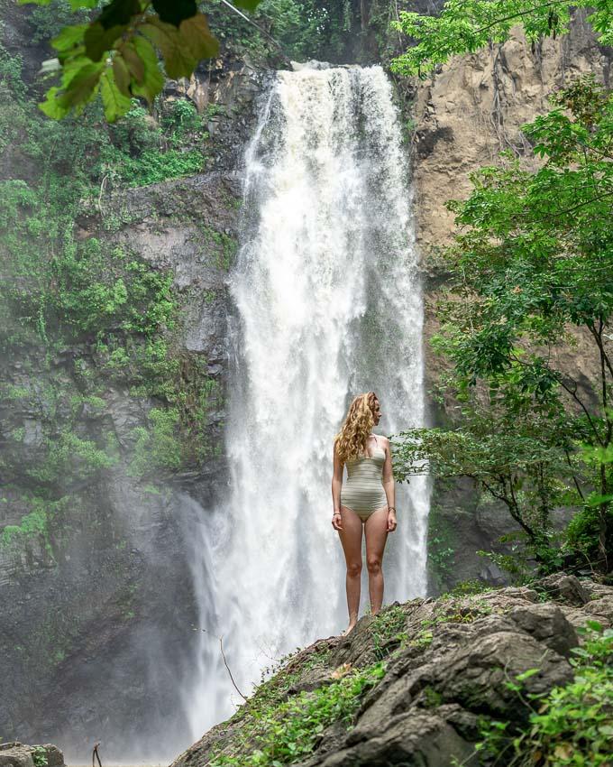 waterfalls on Lombok