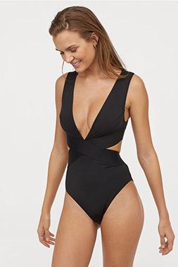 Asia modest bikini