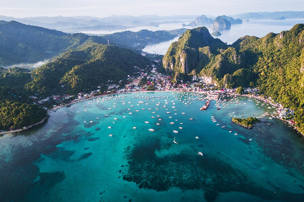 traveling to El Nido Philippines