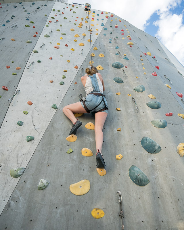 Basecamp rock climbing Whitney Peak