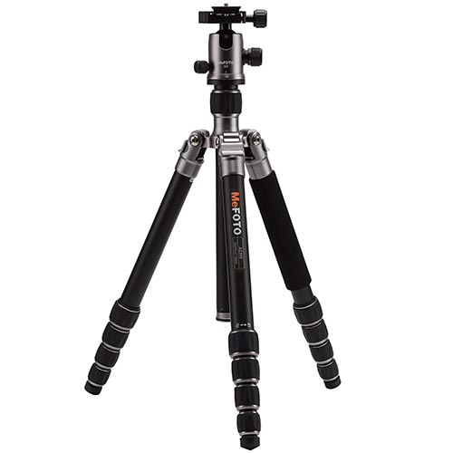 Best tripod for travel MeFoto Globetrotter