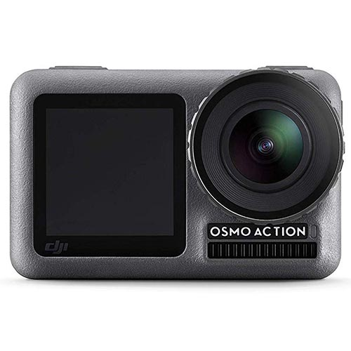 DJI Osmo action camera travel