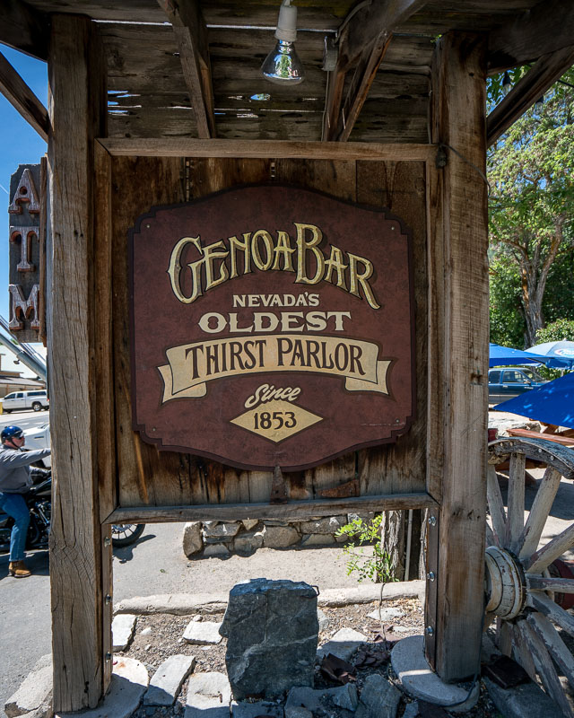 Genoa bar road trip