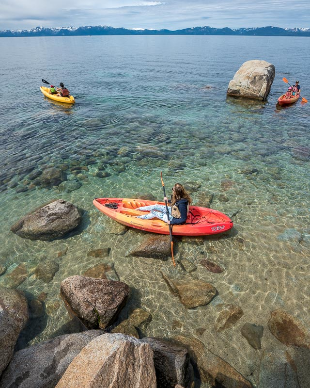 Sand Harbor Kayak rental