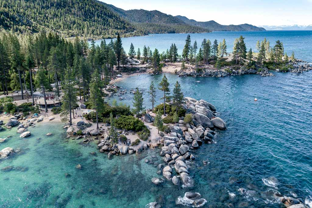 Sand Harbor Tahoe Nevada