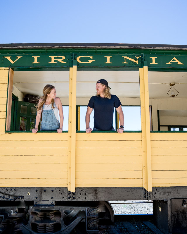 Virginia City Train tour
