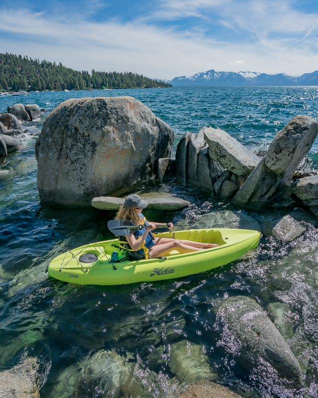 Zephyr Cove Kayak rental