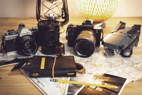 photography equipment for travel