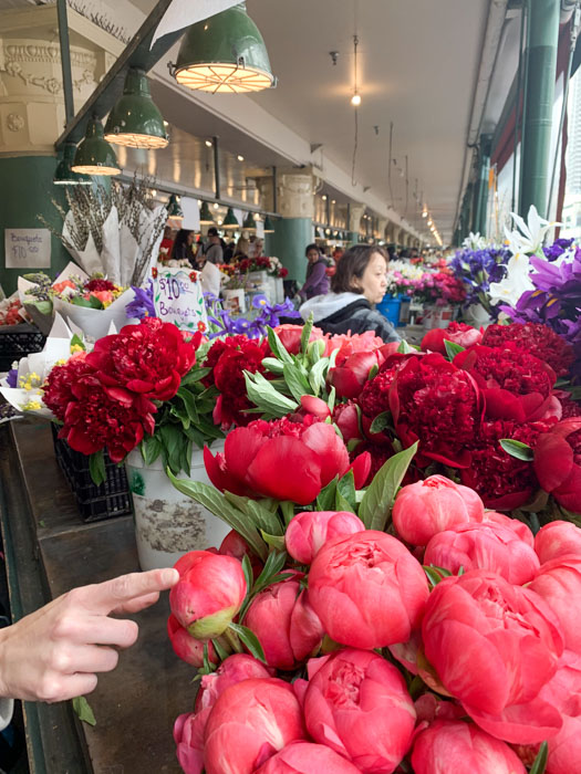 pike place flower market