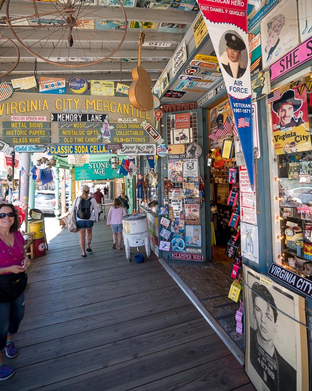 things to do in Virginia City Nevada
