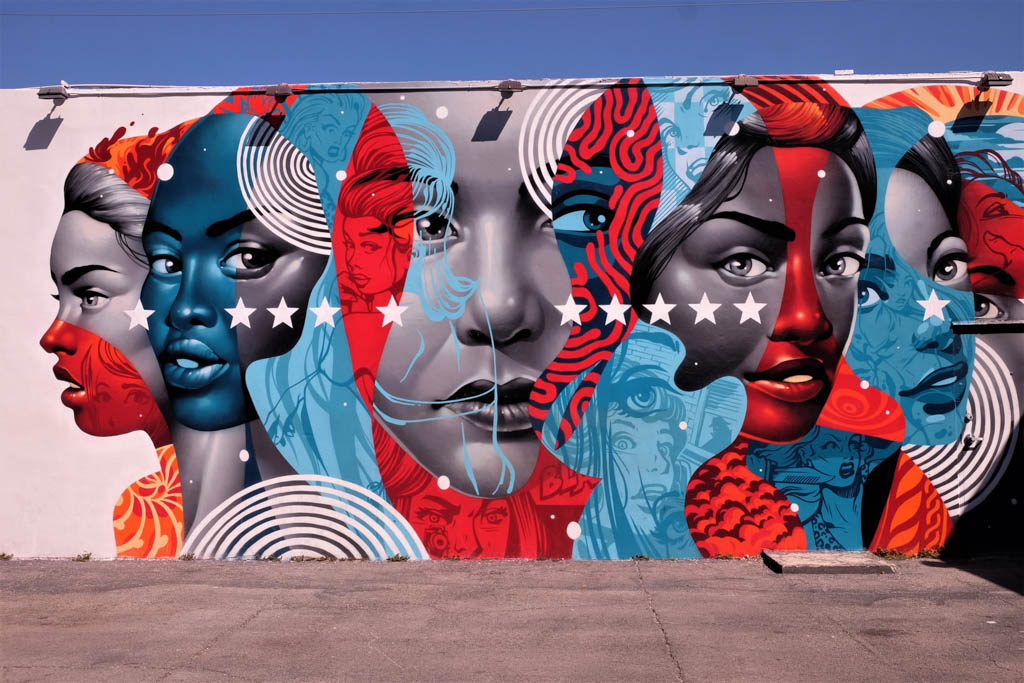 Miami art and graffiti murals