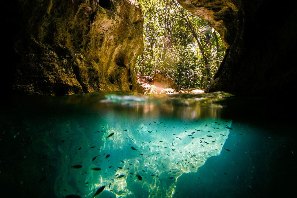ATM Cave tour belize