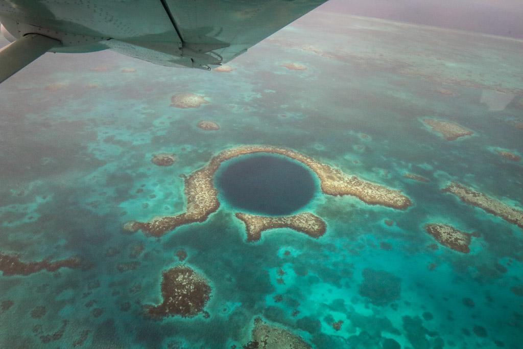 great blue hole tour Belize